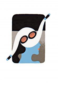 JOHANNES EIDT - Frau mit Hut